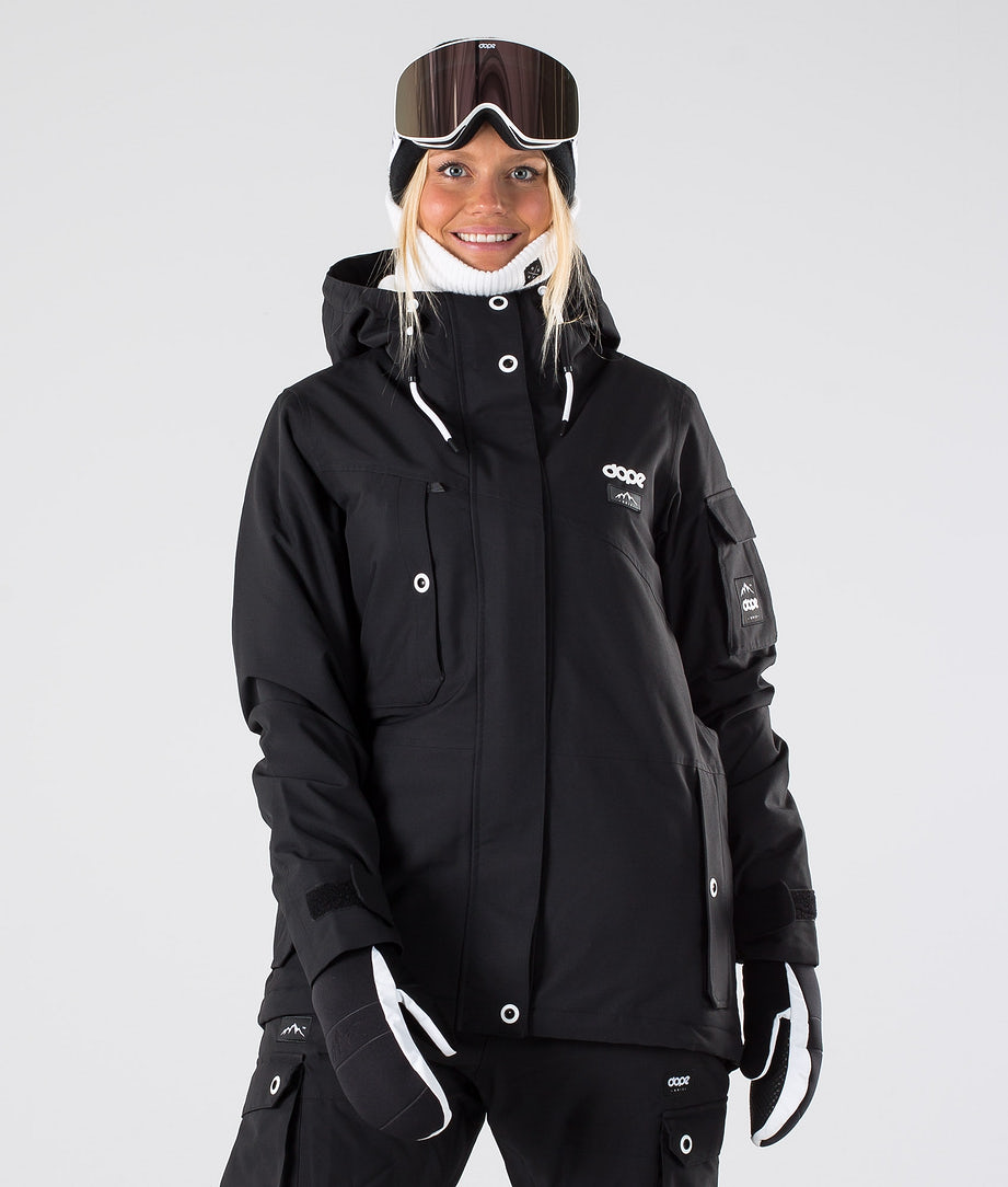 Dope Adept W Ski Jacket Black