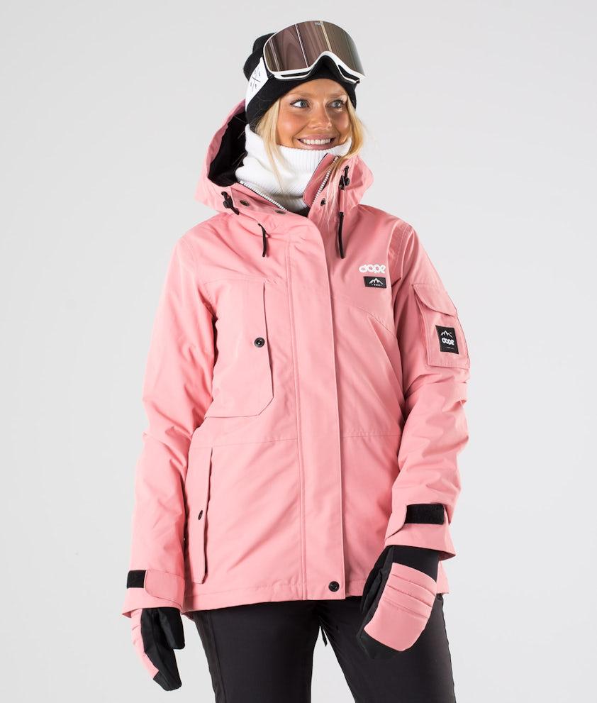 Dope Adept W Skijakke Pink