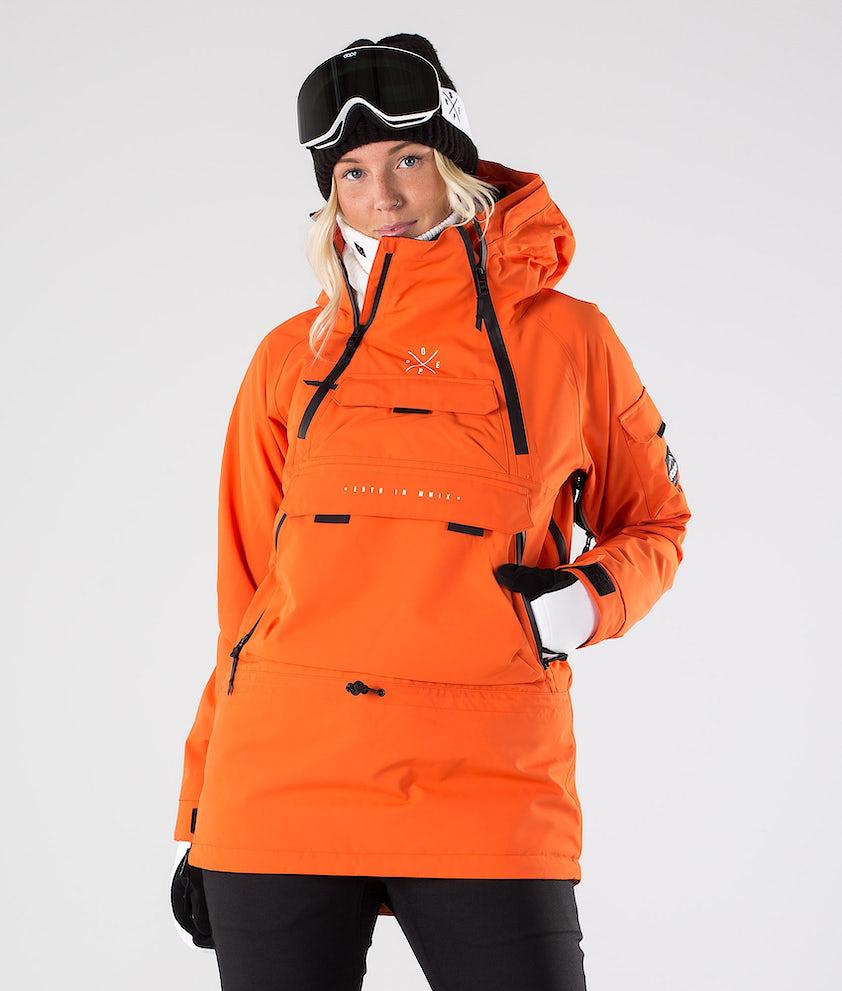 Dope Akin W Snowboardjakke Orange