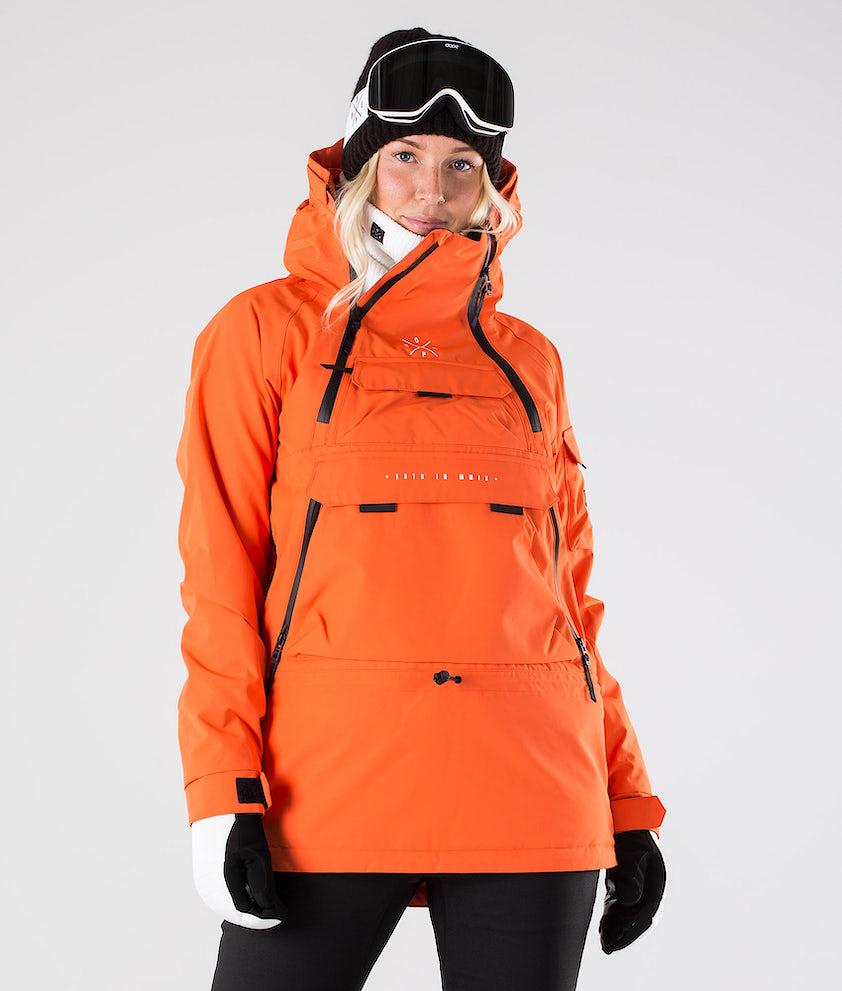 Dope Akin W Skijakke Orange
