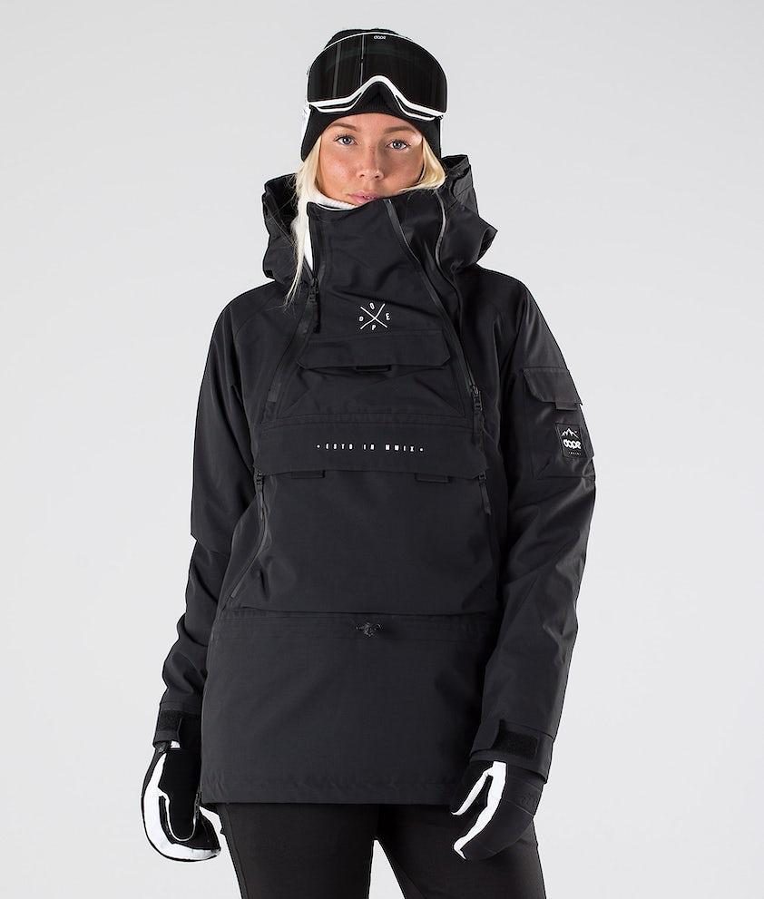 Dope Akin W Ski Jacket Black