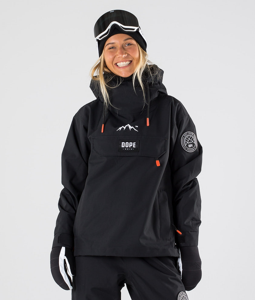 Dope Blizzard W Ski Jacket Black