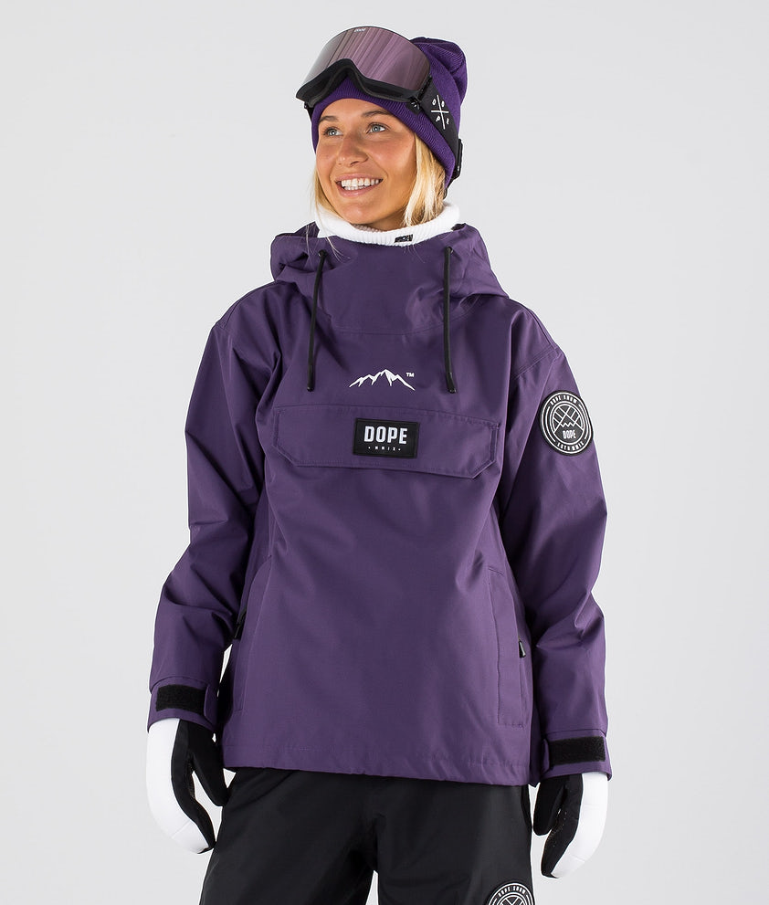 Dope Blizzard W Snowboard Jacket Grape