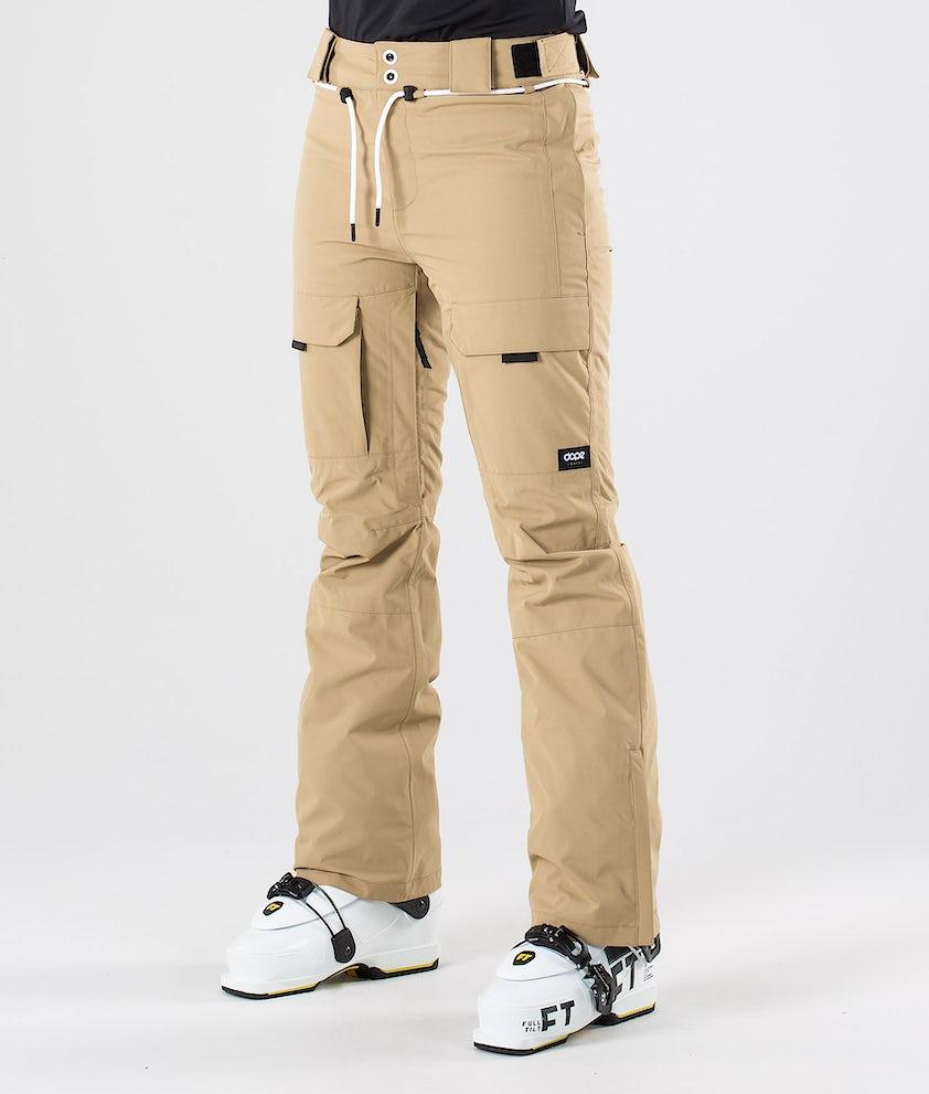 Dope Grace Pantalon de Ski Khaki