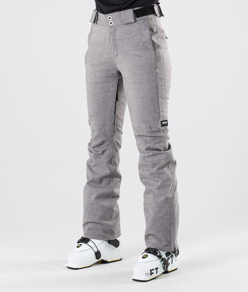 Dope Con Pantalon de Ski Grey Melange