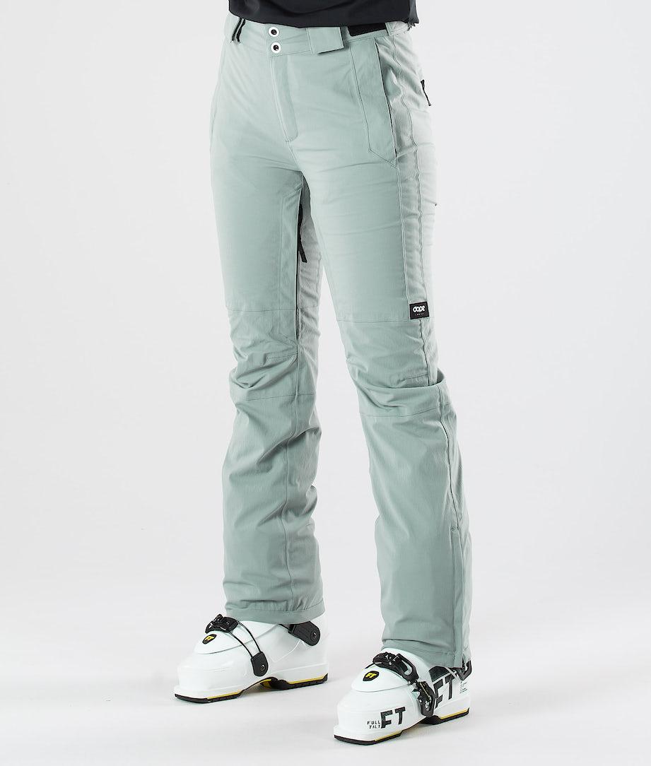 Dope Con Ski Pants Faded Green