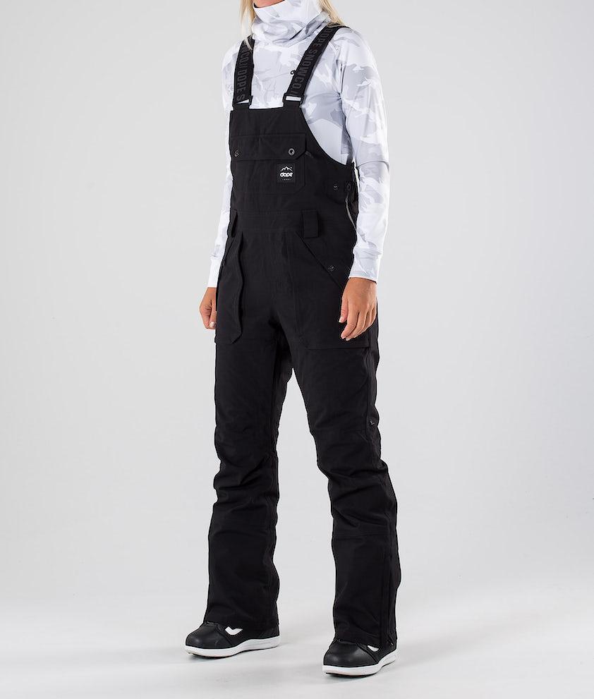 Dope Notorious BIB W Pantalon de Snowboard Black