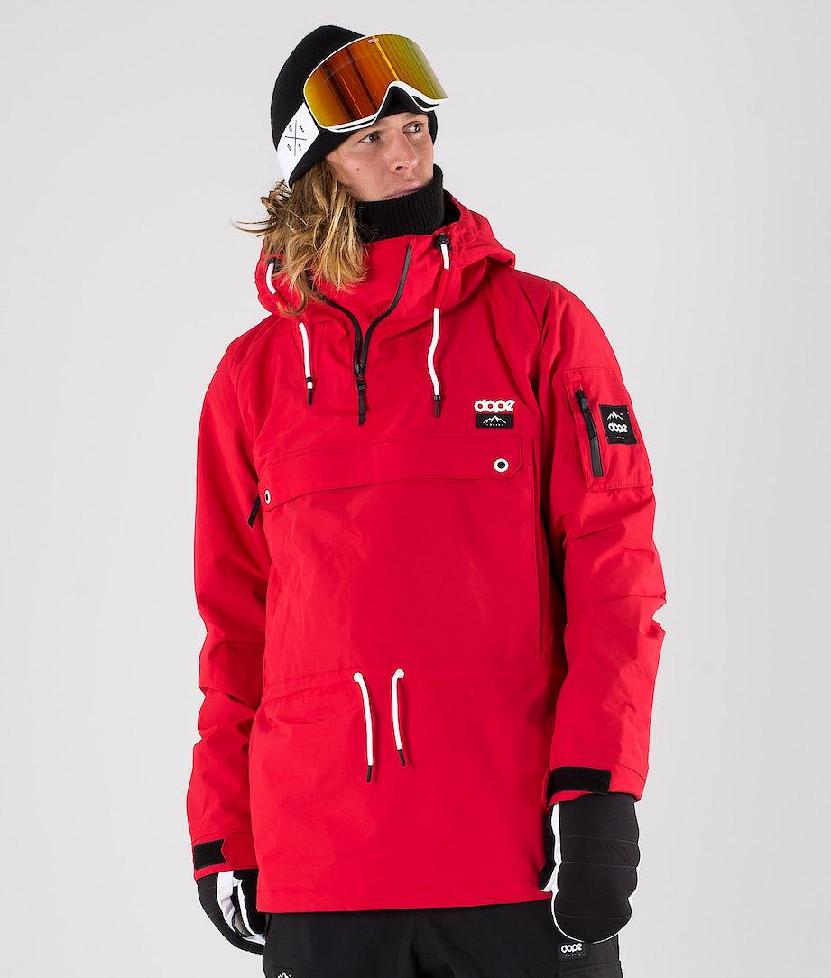 Dope Annok Ski Jacket Red