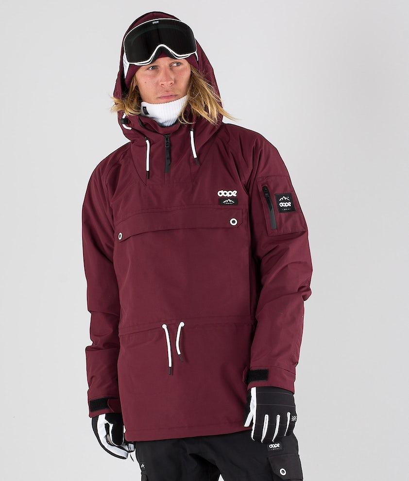 Dope Annok Ski Jacket Burgundy