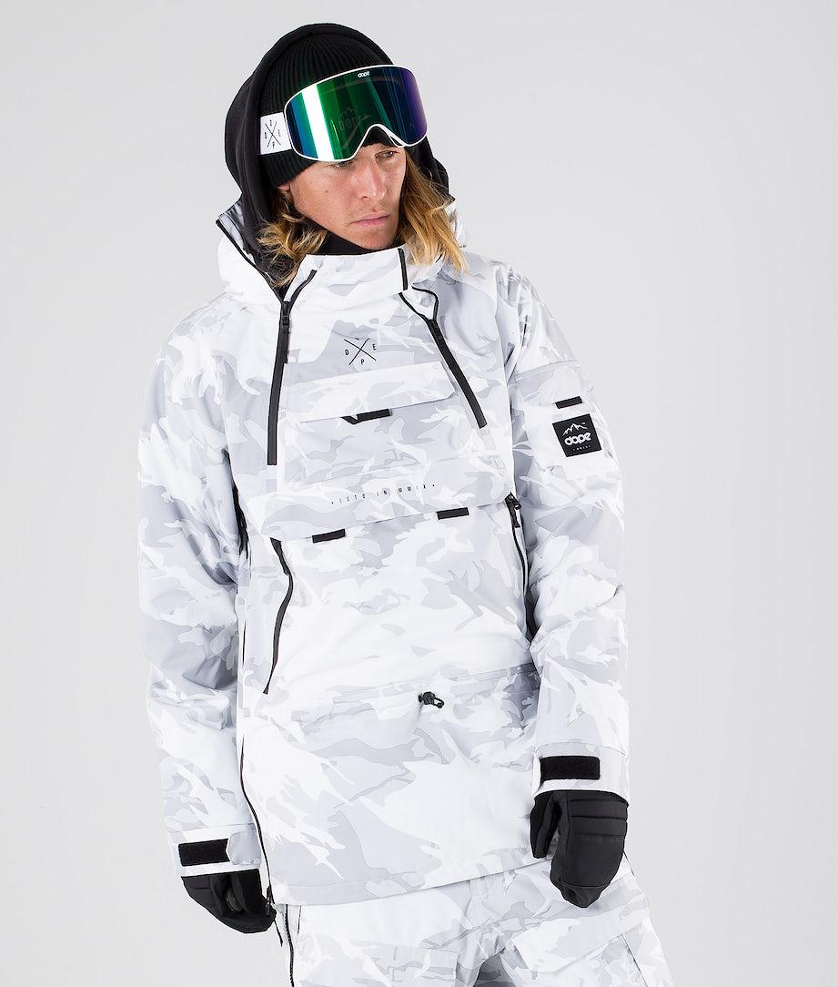 Dope Akin Ski Jacket Tux Camo