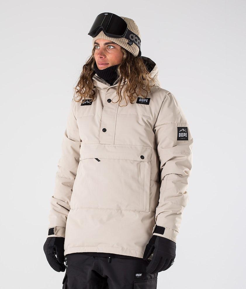 Dope Puffer Ski Jacket Sand
