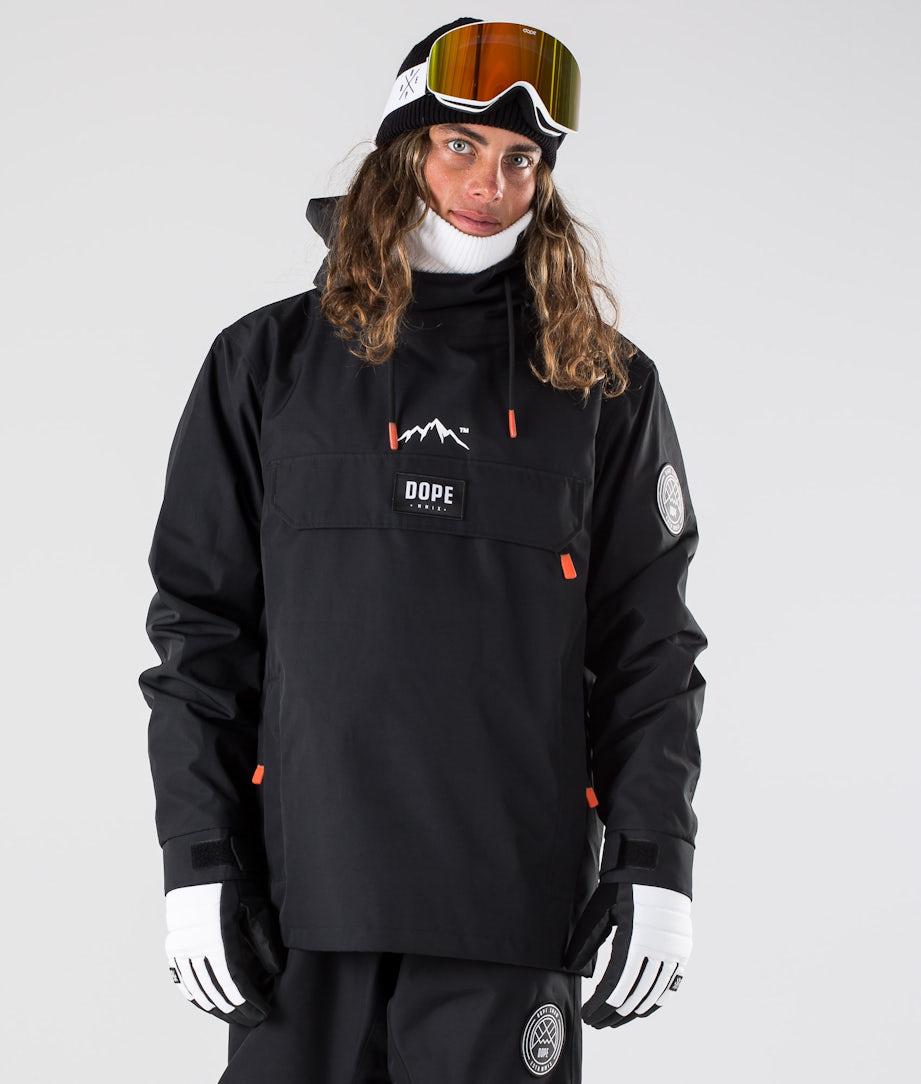 Dope Blizzard Skijakke Black