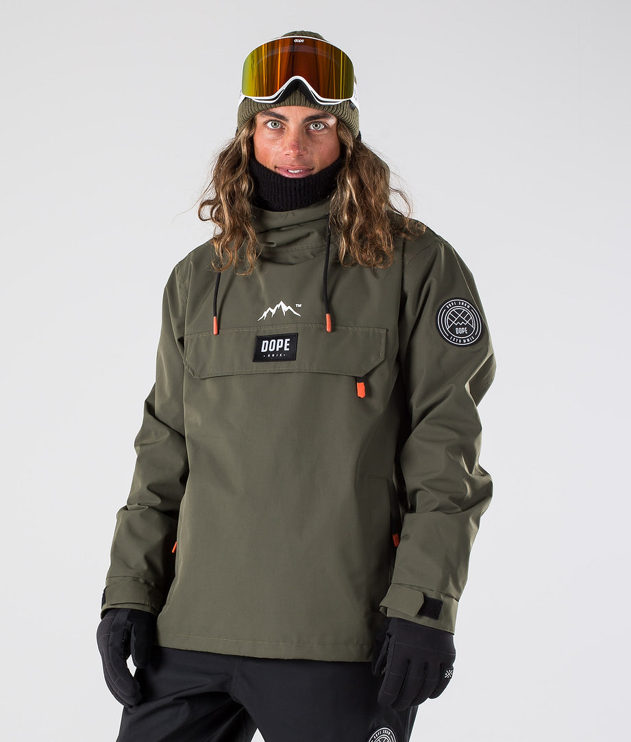 Dope Blizzard Ski Jacket Green