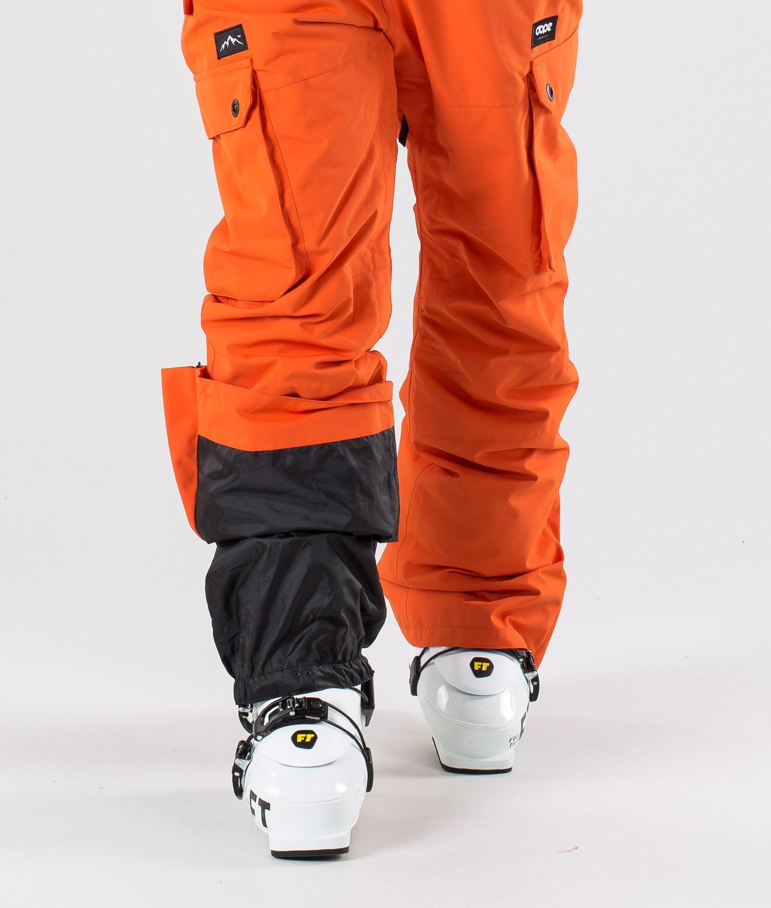 Dope Iconic Skibukse Orange