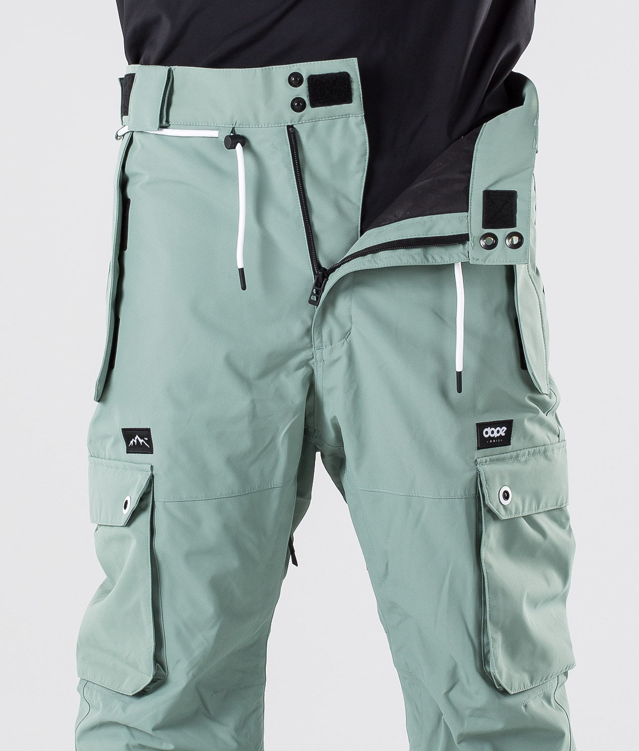 Dope Iconic Skibukse Faded Green