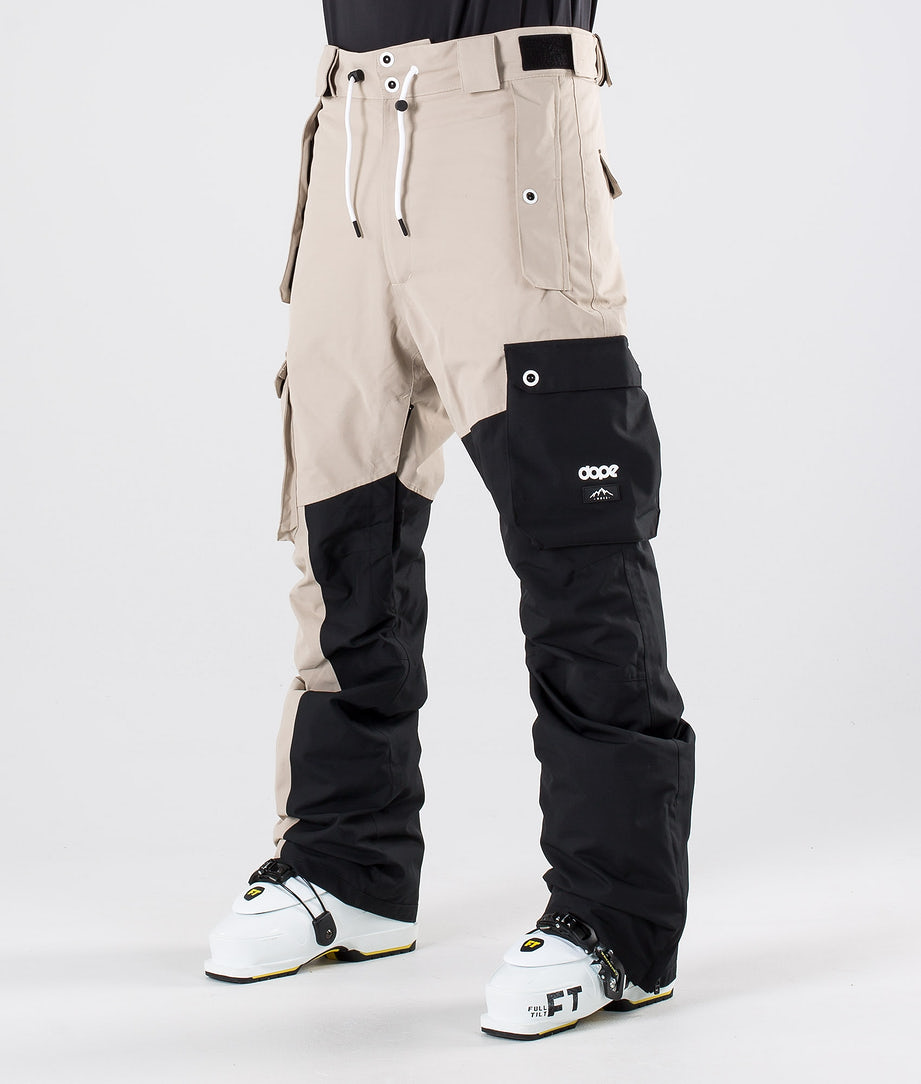 Dope Adept Pantaloni da sci Sand/Black