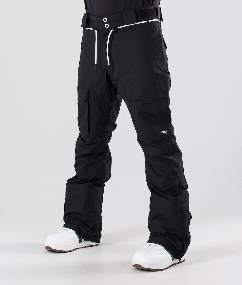 Dope Poise Snow Pants Black