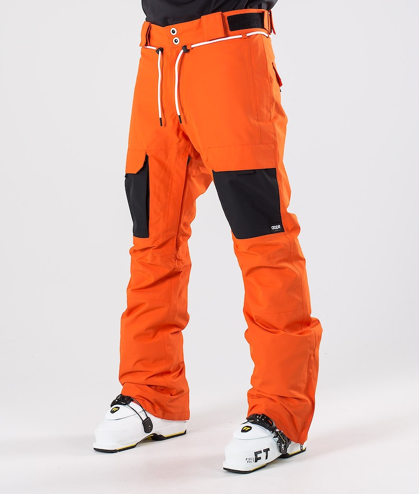 Dope Poise Skibukse Orange/Black