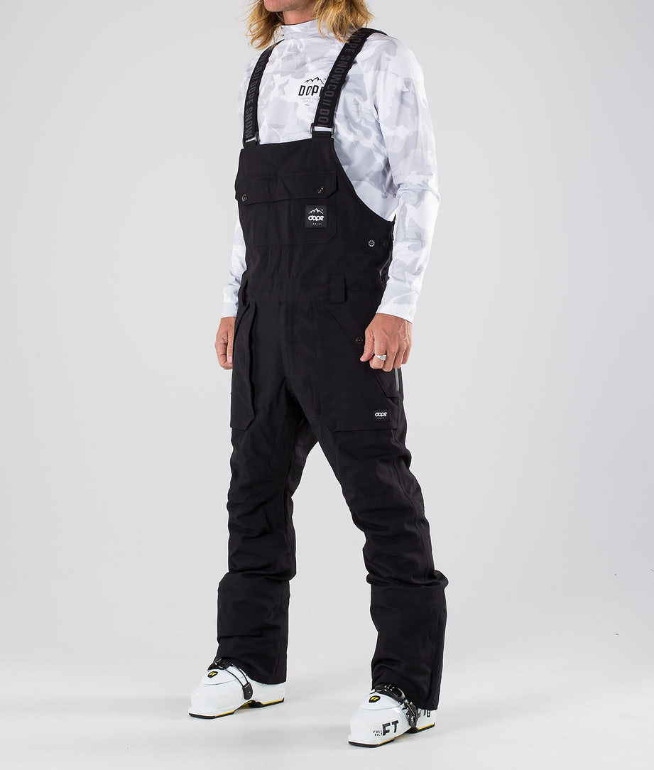 Dope Notorious BIB Ski Pants Black