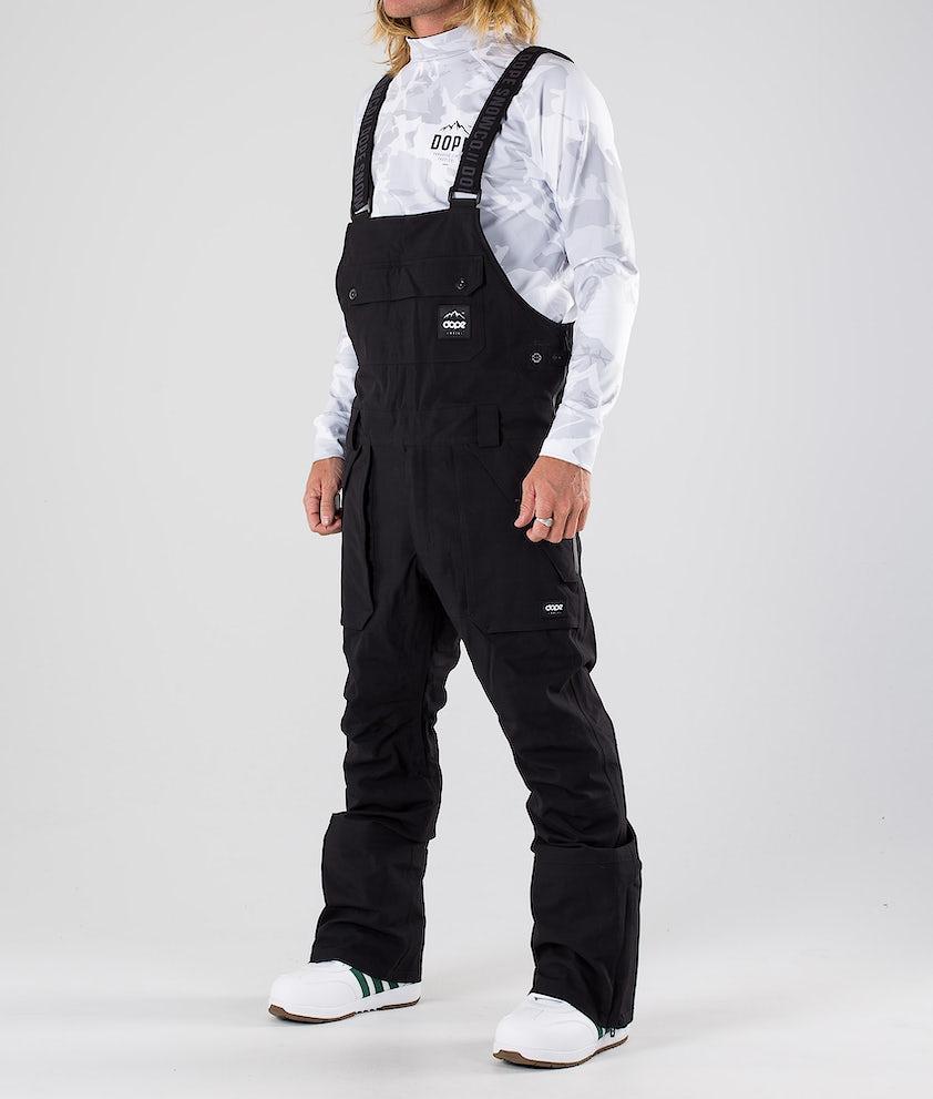 Dope Notorious BIB Snow Pants Black