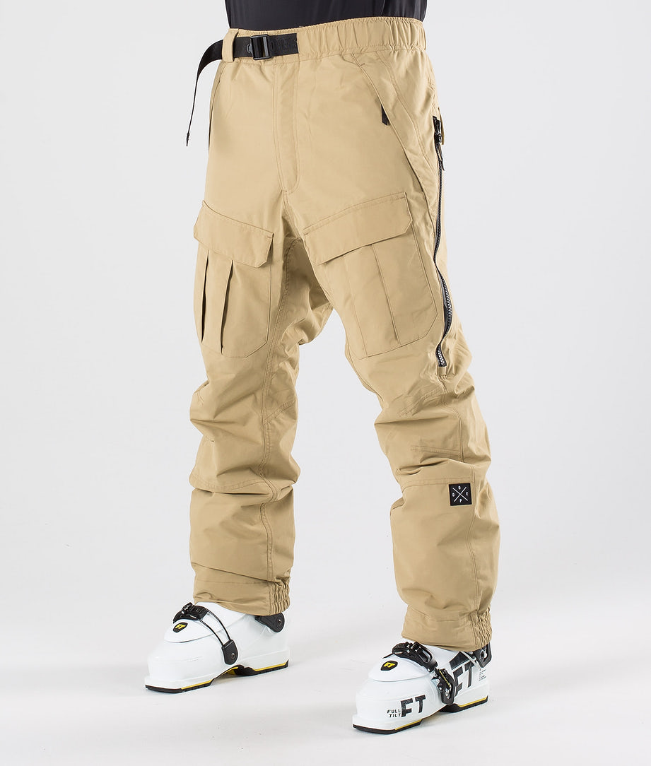 Dope Antek Pantaloni da sci Khaki