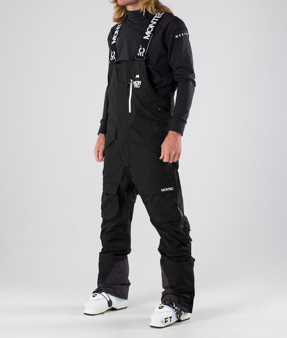 Montec Fawk Pantaloni da sci Black