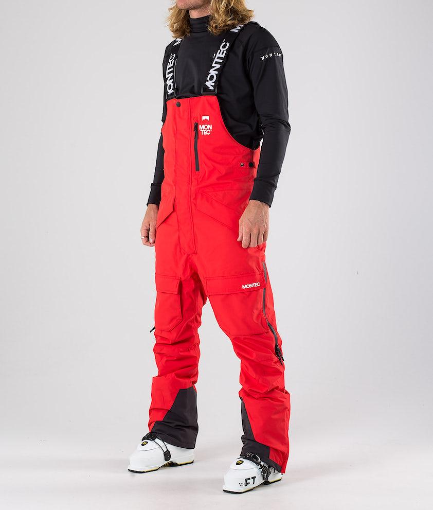 Montec Fawk Pantalon de Ski Red