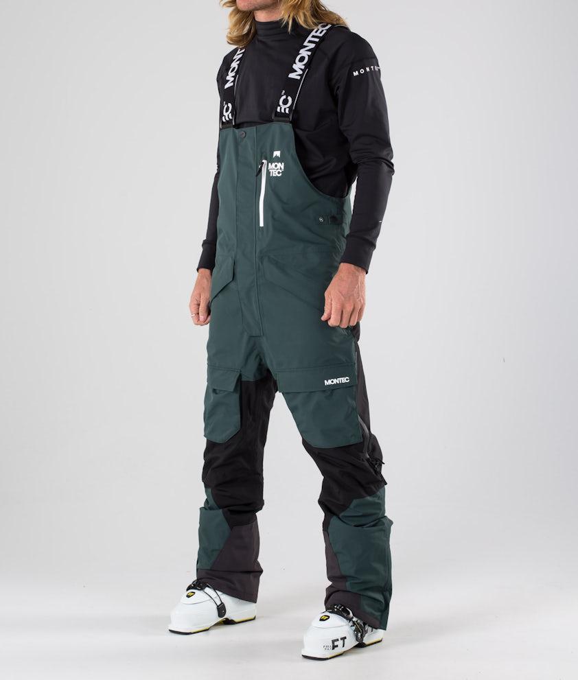 Montec Fawk Pantalon de Ski Dark Atlantic/Black