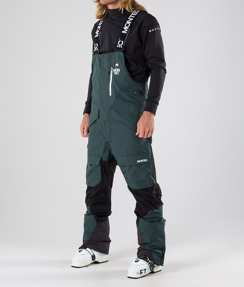 Montec Fawk Skihose Dark Atlantic/Black