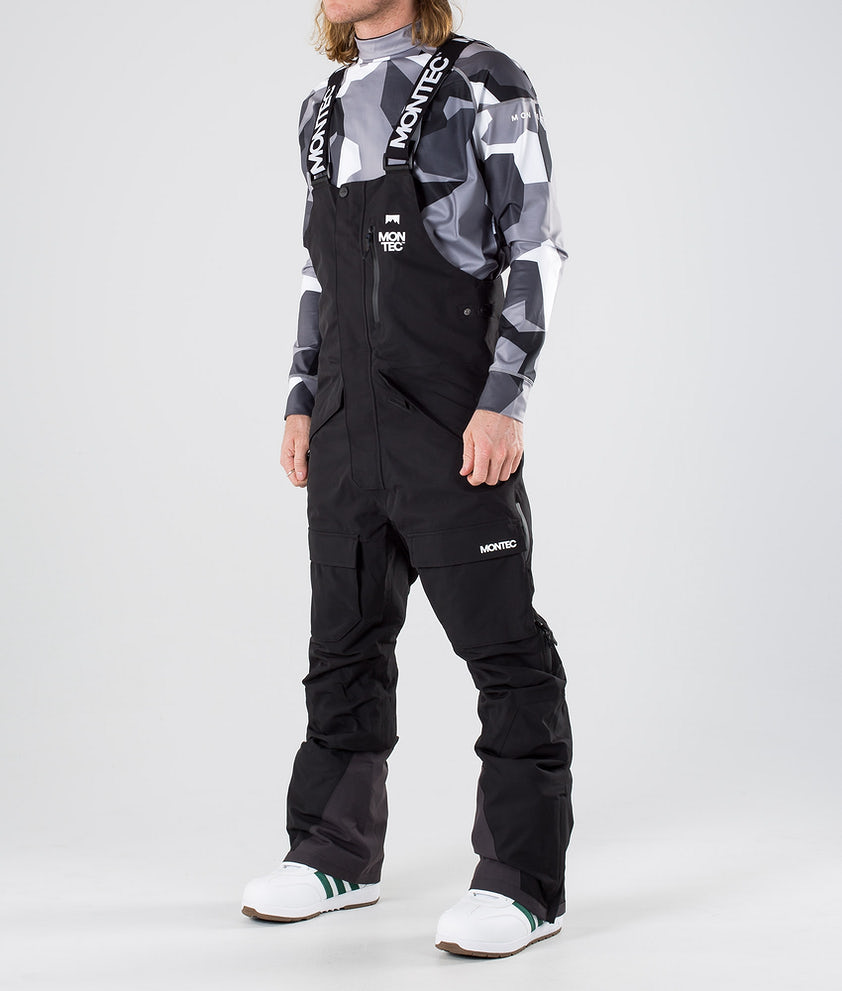 Montec Fawk Snowboardbukse Black