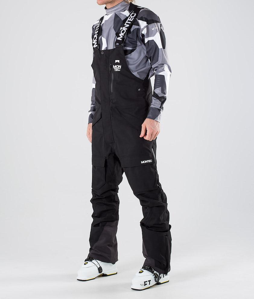 Montec Fawk Pantalon de Ski Black