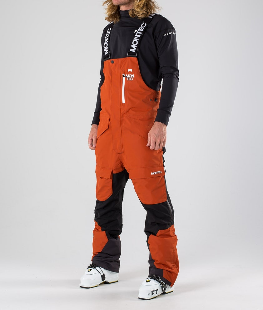 Montec Fawk Ski Pants Clay/Black