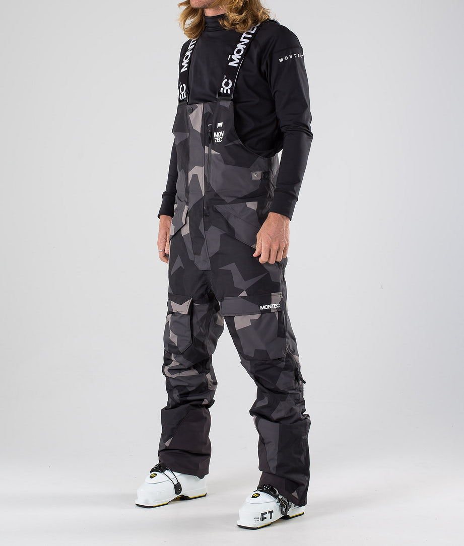 Montec Fawk Ski Pants Night Camo