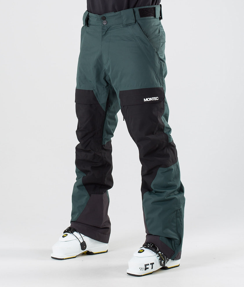 Montec Dune Pantalon de Ski Dark Atlantic/Black