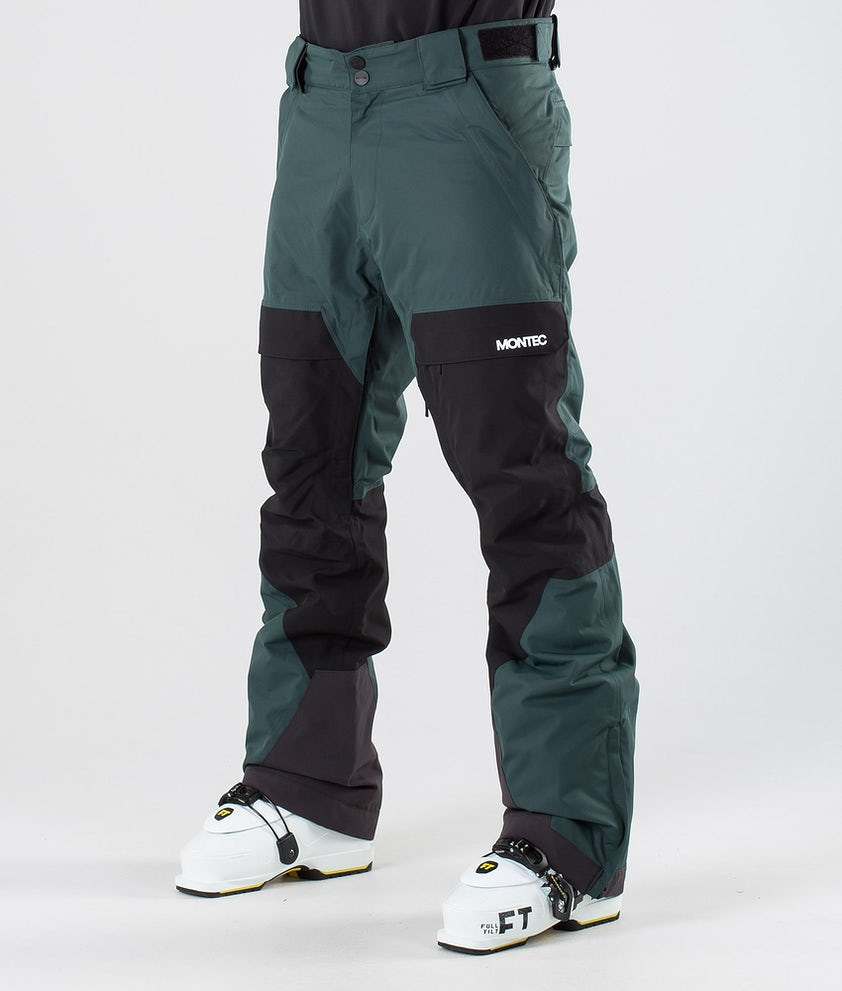 Montec Dune Ski Pants Dark Atlantic/Black