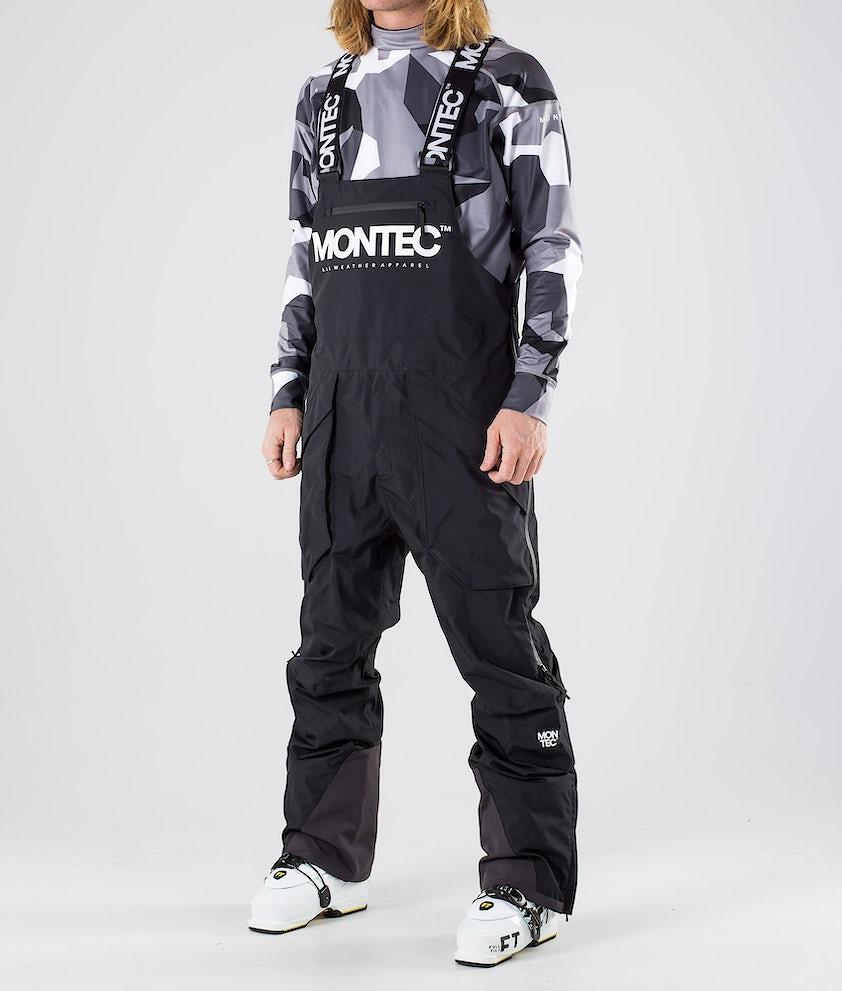 Montec Fenix Skidbyxa Black