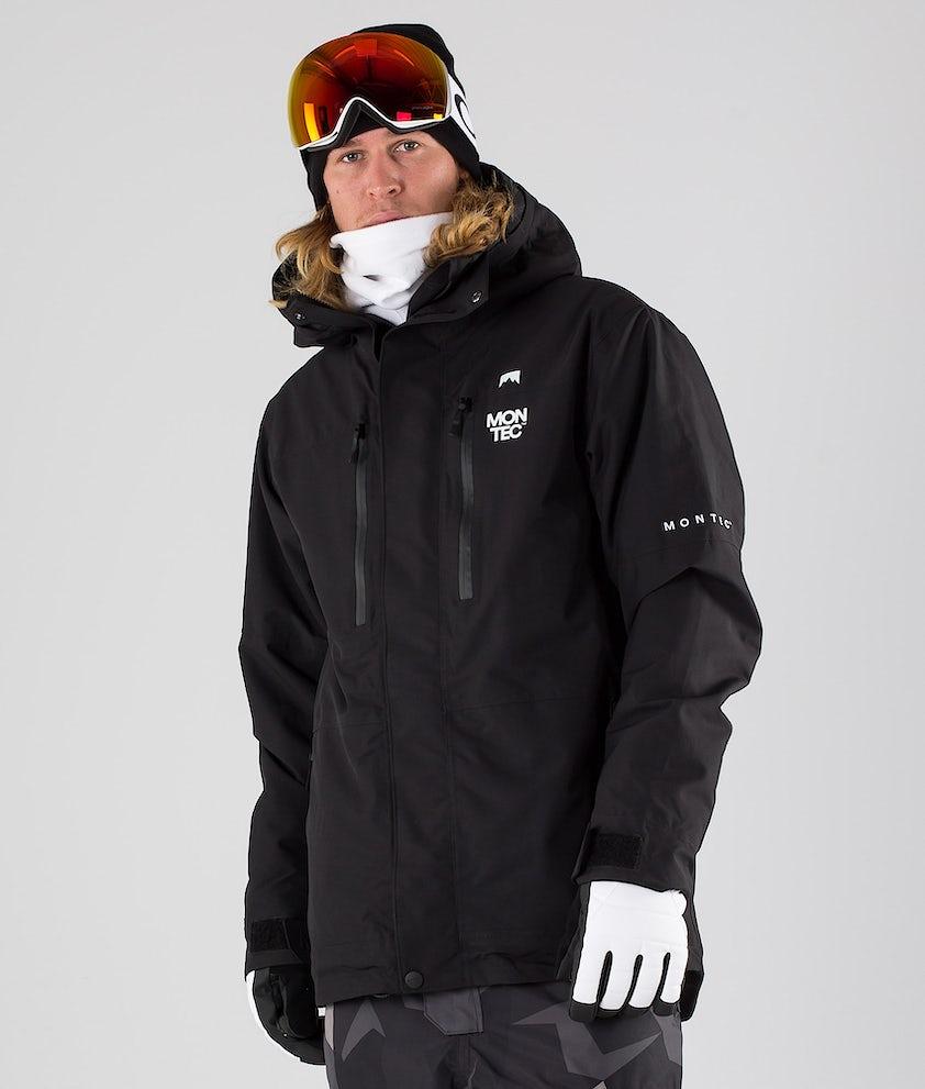 Montec Fawk Skijakke Black