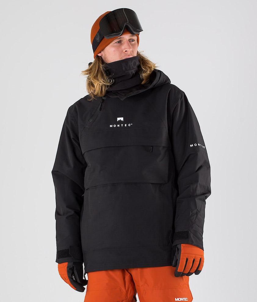 Montec Dune Skijakke Black