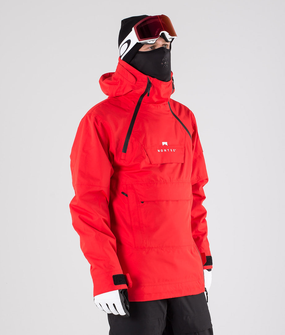 Montec Doom Skijacke Red