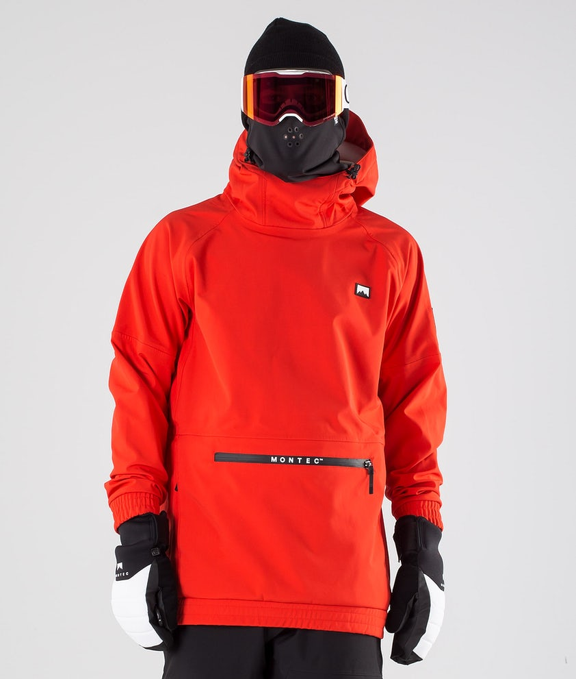 Montec Tempest Ski Jacket Red