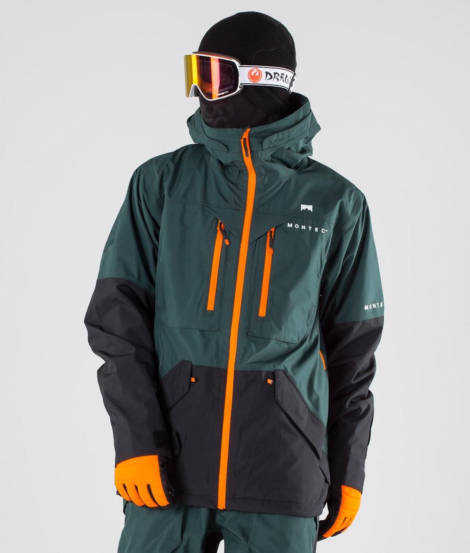 Montec Fenix Ski Jacket Dark Atlantic Black