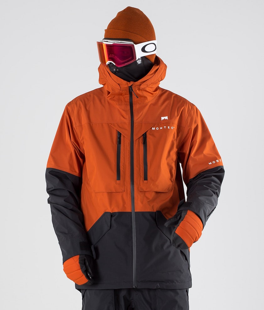 Montec Fenix Skijakke Clay/Black