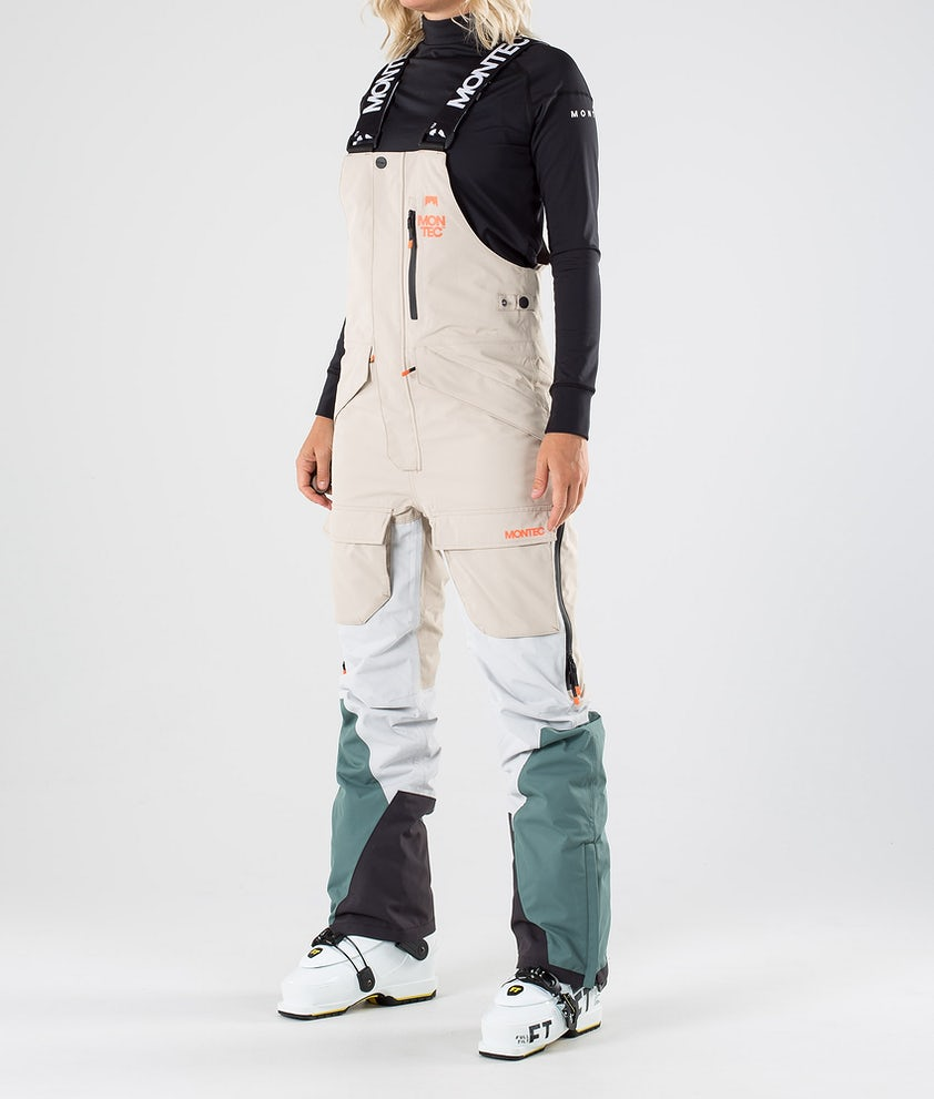 Montec Fawk W Ski Pants Desert Light Grey Atlantic