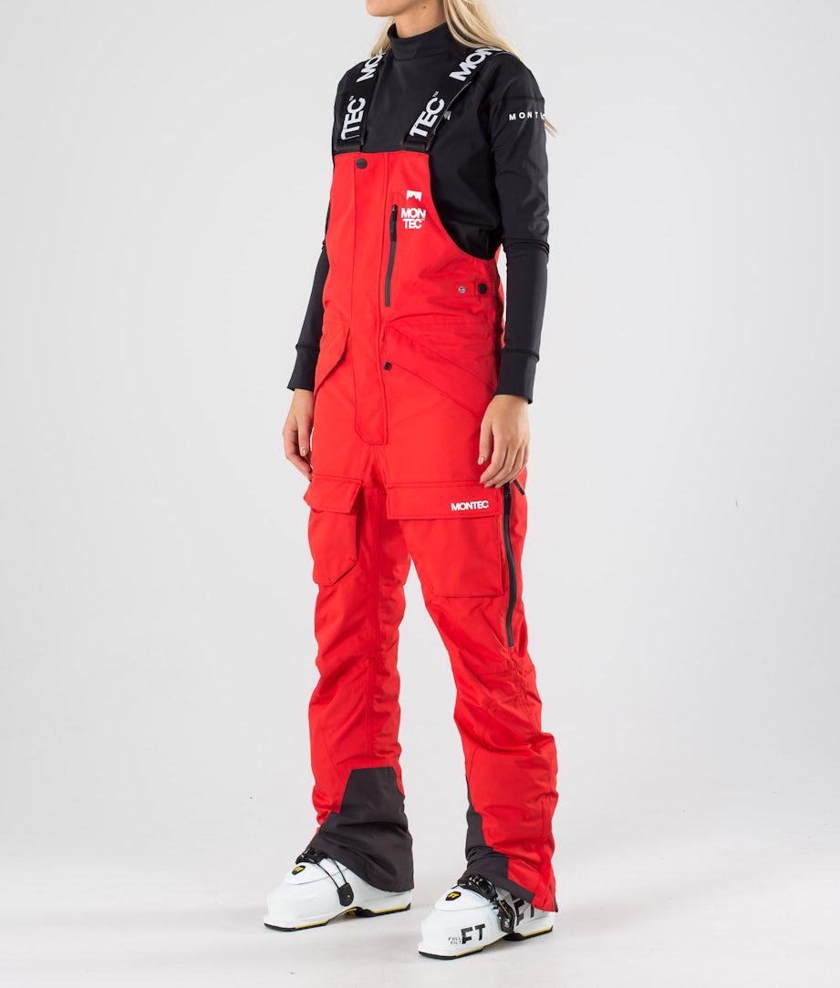 Montec Fawk W Lasketteluhousut Red