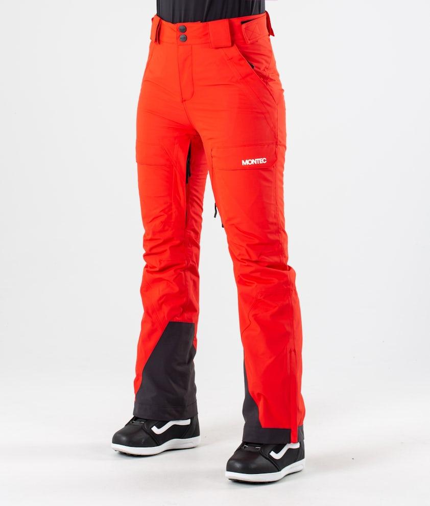 Montec Dune W Pantaloni da snowboard Red