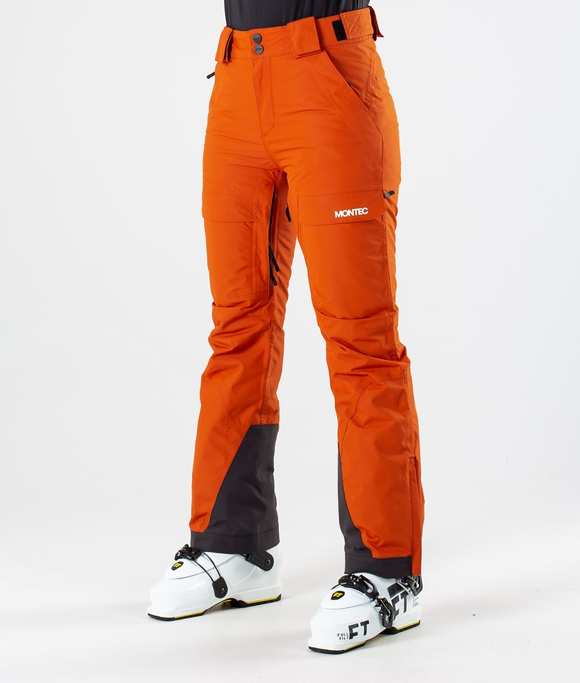 Montec Dune W Ski Pants Clay