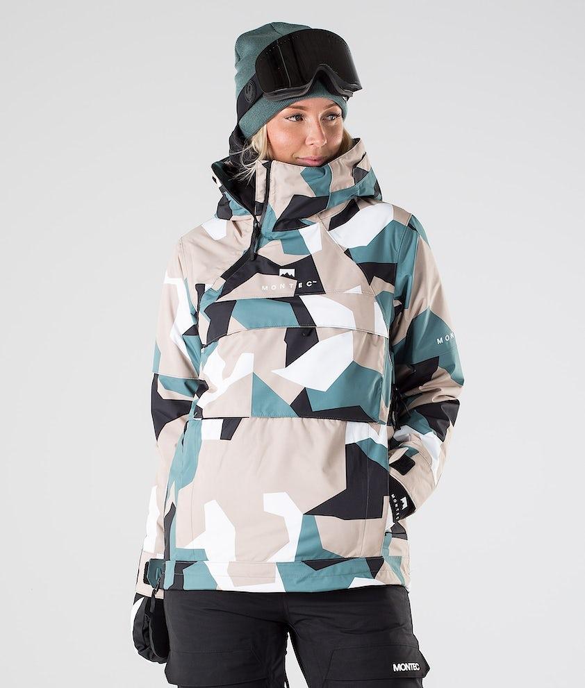 Montec Dune W Snowboard Jacket Atlantic Camo