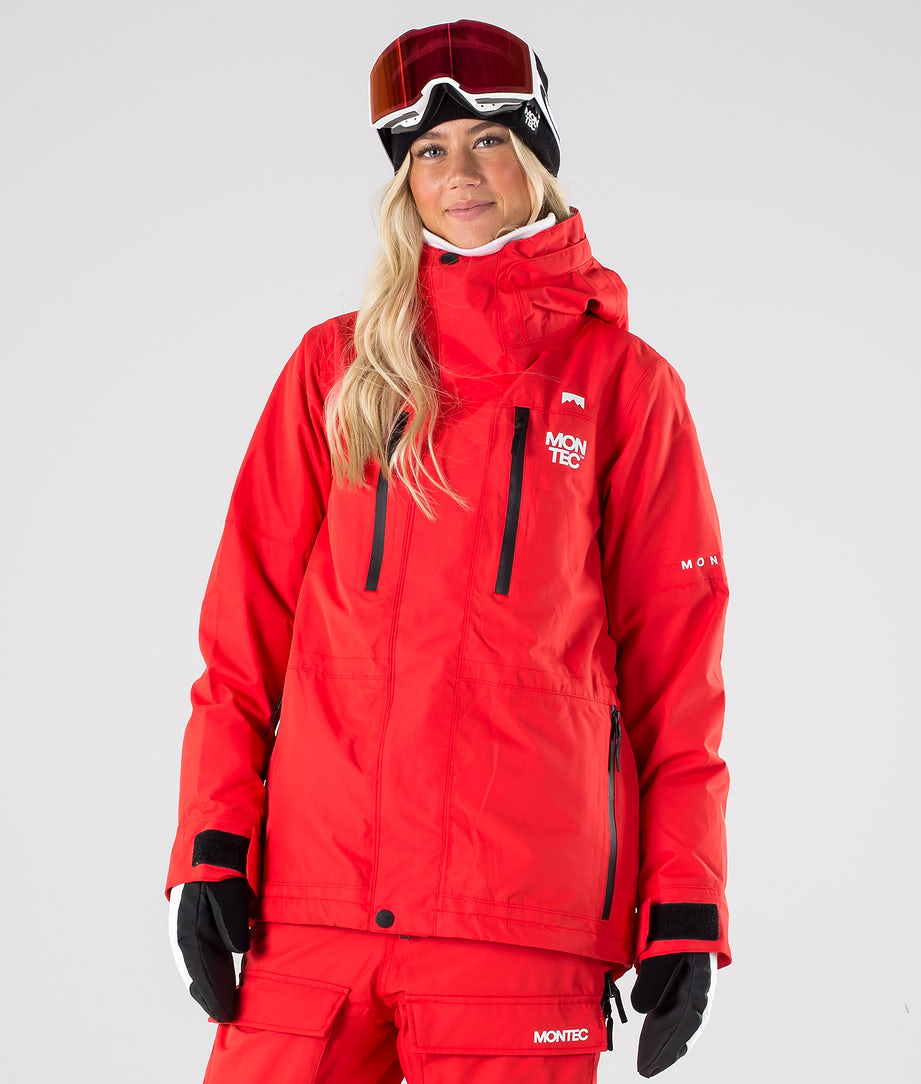 Montec Fawk W Skijacke Red