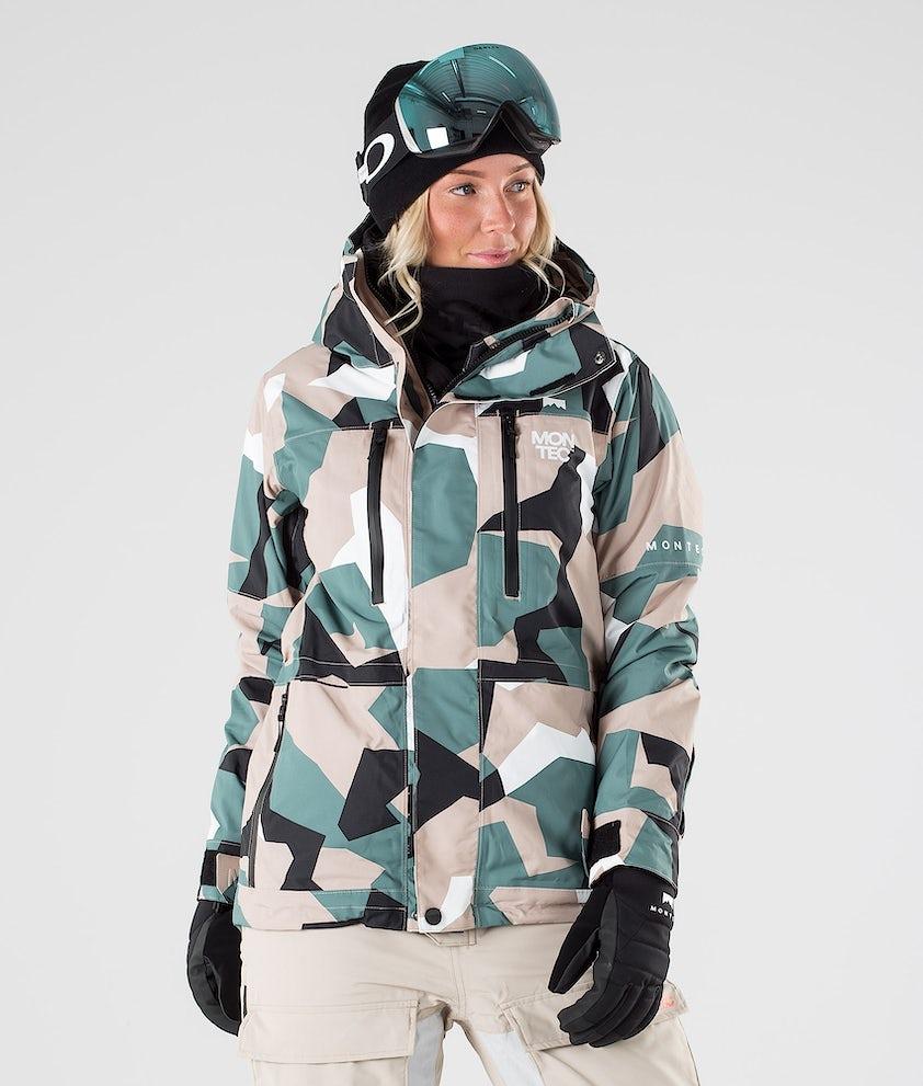 Montec Fawk W Ski Jacket Atlantic Camo