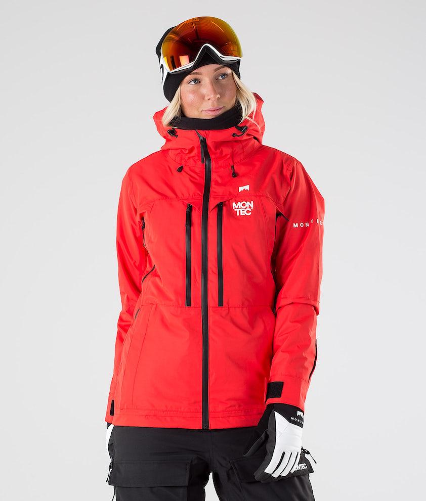 Montec Moss Skijakke Red